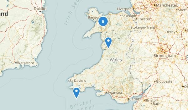 Wales, United Kingdom Map