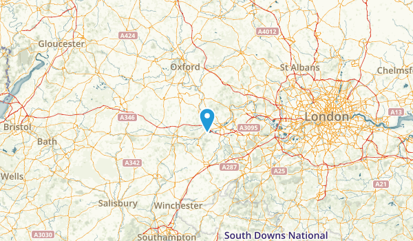 West Berkshire, United Kingdom Map