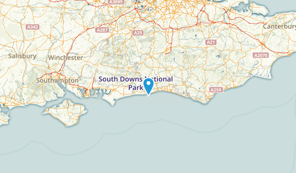 West Sussex, United Kingdom Map