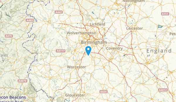 Worcestershire, United Kingdom Map