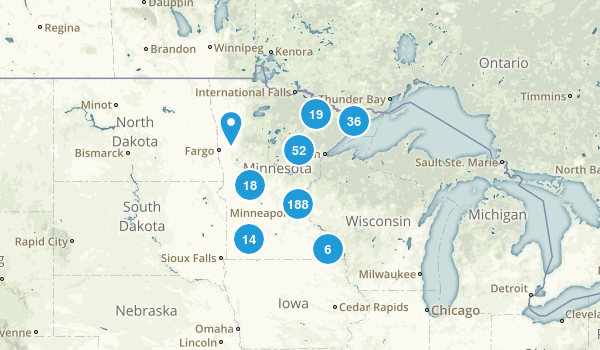 Best Trails In Minnesota Photos Reviews AllTrails - Us map minnesota