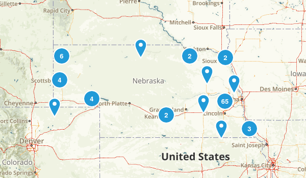 Best Trails In Nebraska Photos Reviews AllTrails - Nebraska us map