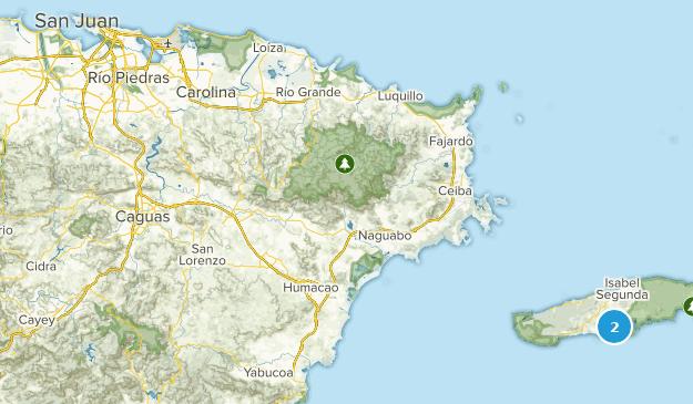 Puerto Rico Cities Map