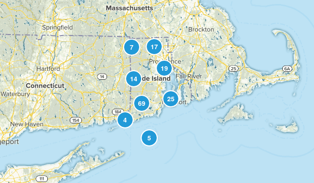 Rhode Island Cities Map