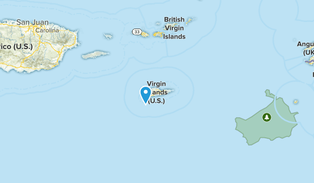 Saint Croix Cities Map