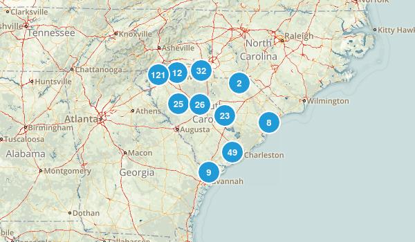 South Carolina Map