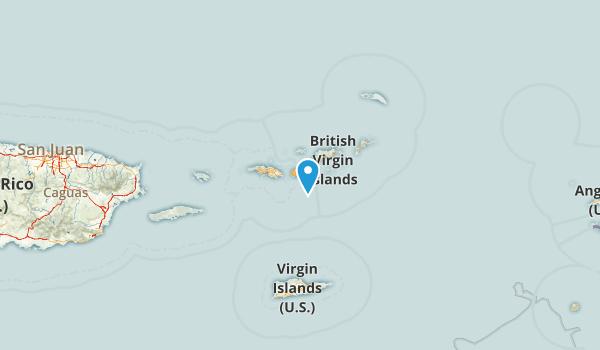 United States Virgin Islands Map