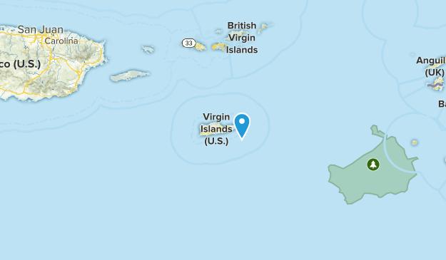 Saint Croix, US Virgin Islands Map