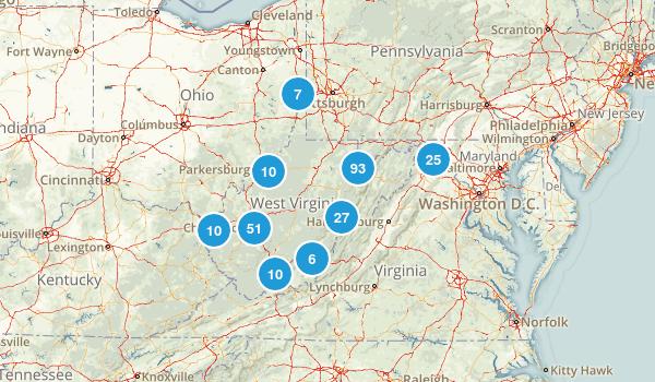 West Virginia Map