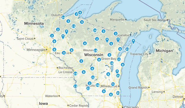 Wisconsin Cities Map