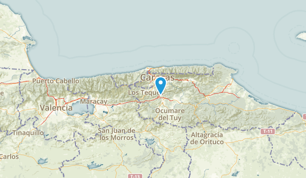 Miranda, Venezuela Map