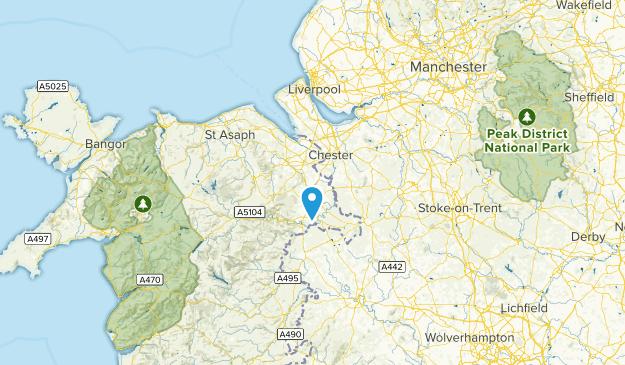 Flintshire, Wales Map