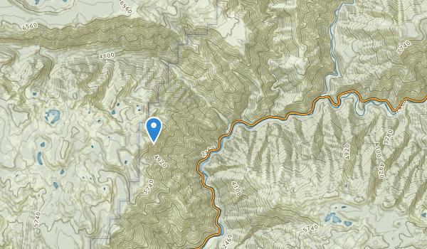 trail locations for Belden, California