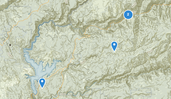 trail locations for Camptonville, California