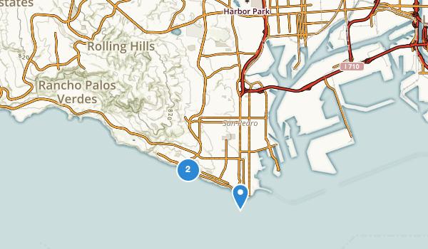 trail locations for San Pedro, California