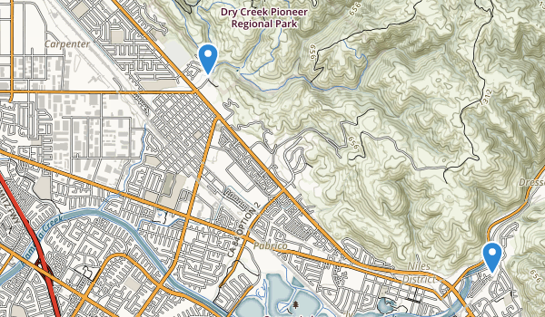 trail locations for Union City, California