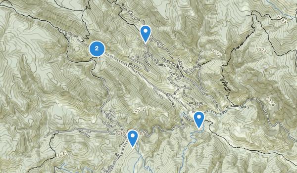 trail locations for Glen Haven, Colorado