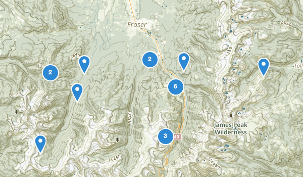 Best Trails Near Winter Park Colorado