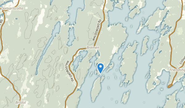 trail locations for Bremen, Maine