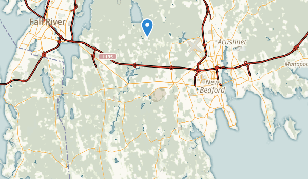 trail locations for Dartmouth, Massachusetts
