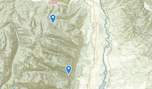 trail locations for Florence, Montana