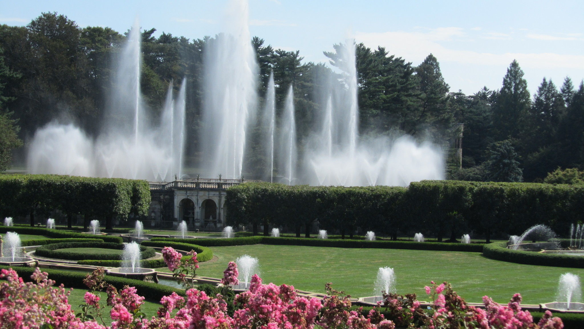Longwood gardens pennsylvania alltrailscom for Longwood gardens address
