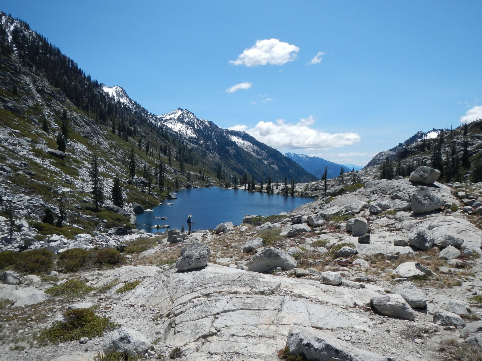 Canyon creek lakes l lake trail california for Canyon lake fishing ca