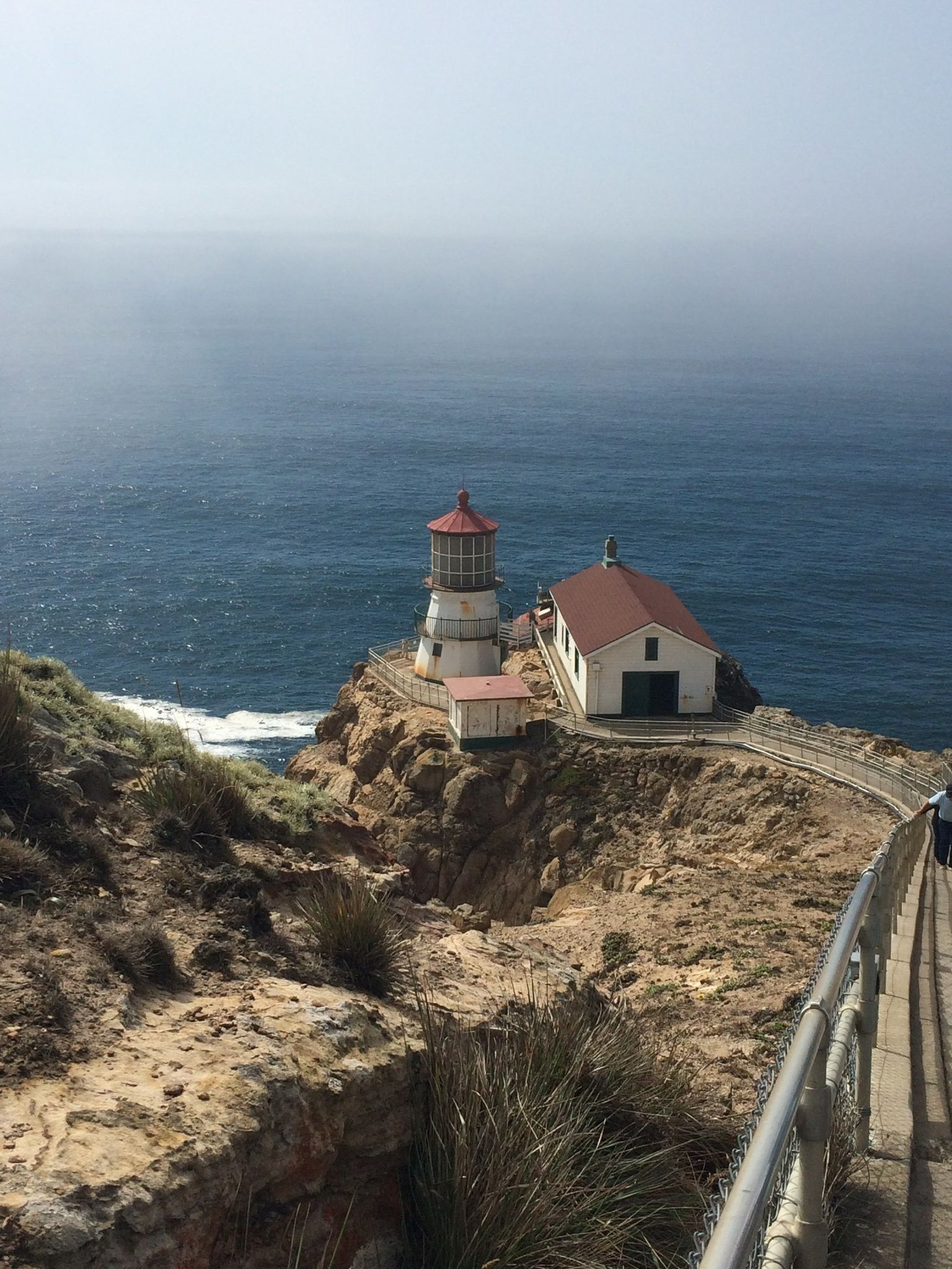 Point Reyes Lighthouse Visitor Center Trail California