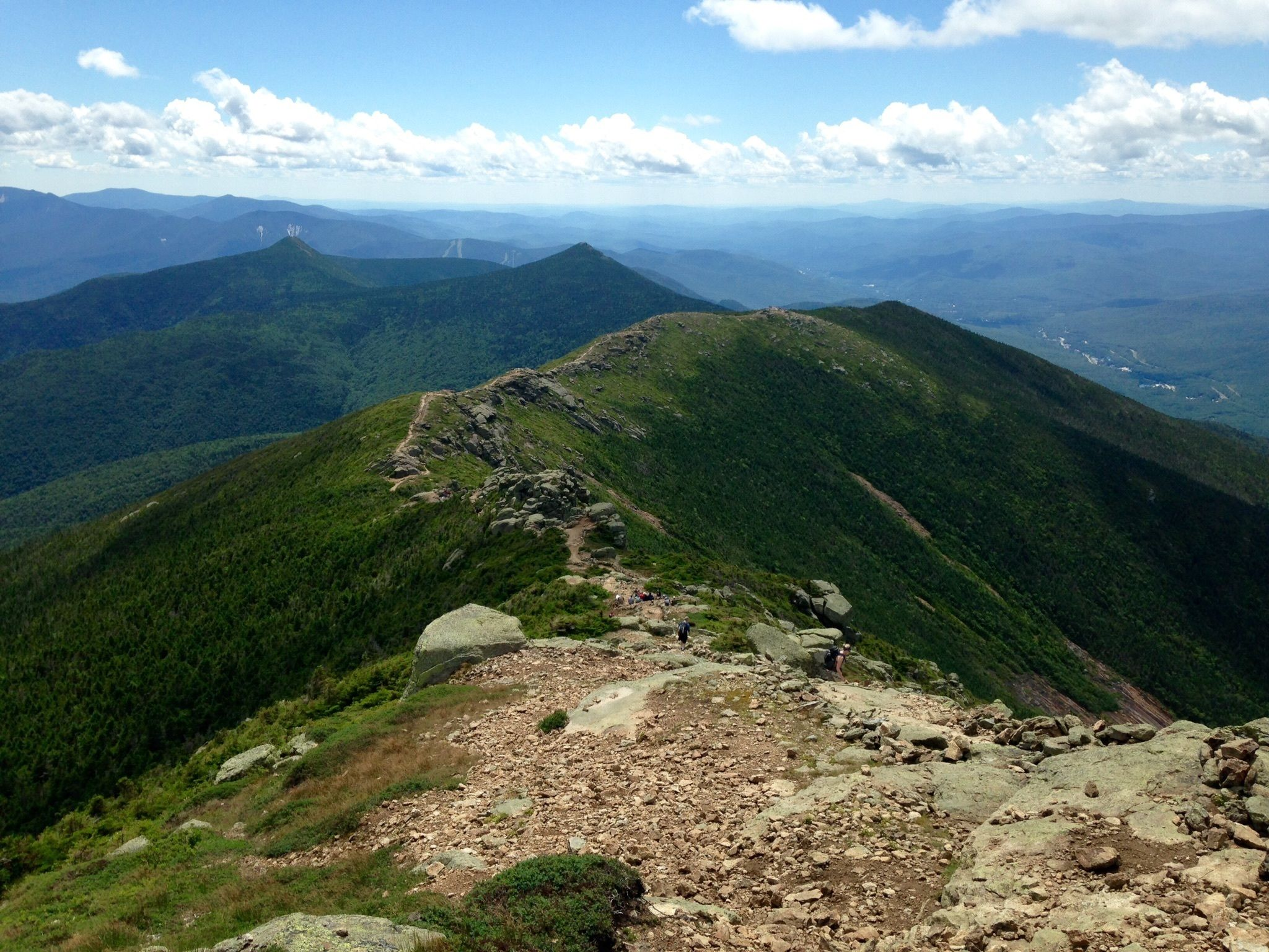 Mount Lafayette and Franconia Ridge Trail Loop - New ...