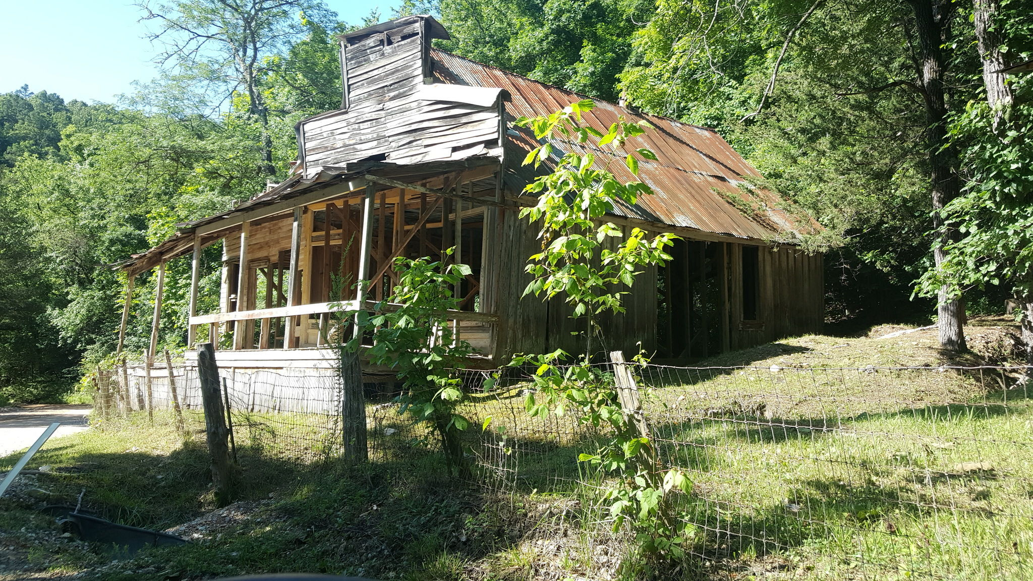 Old General Store in Rush, Arkansas