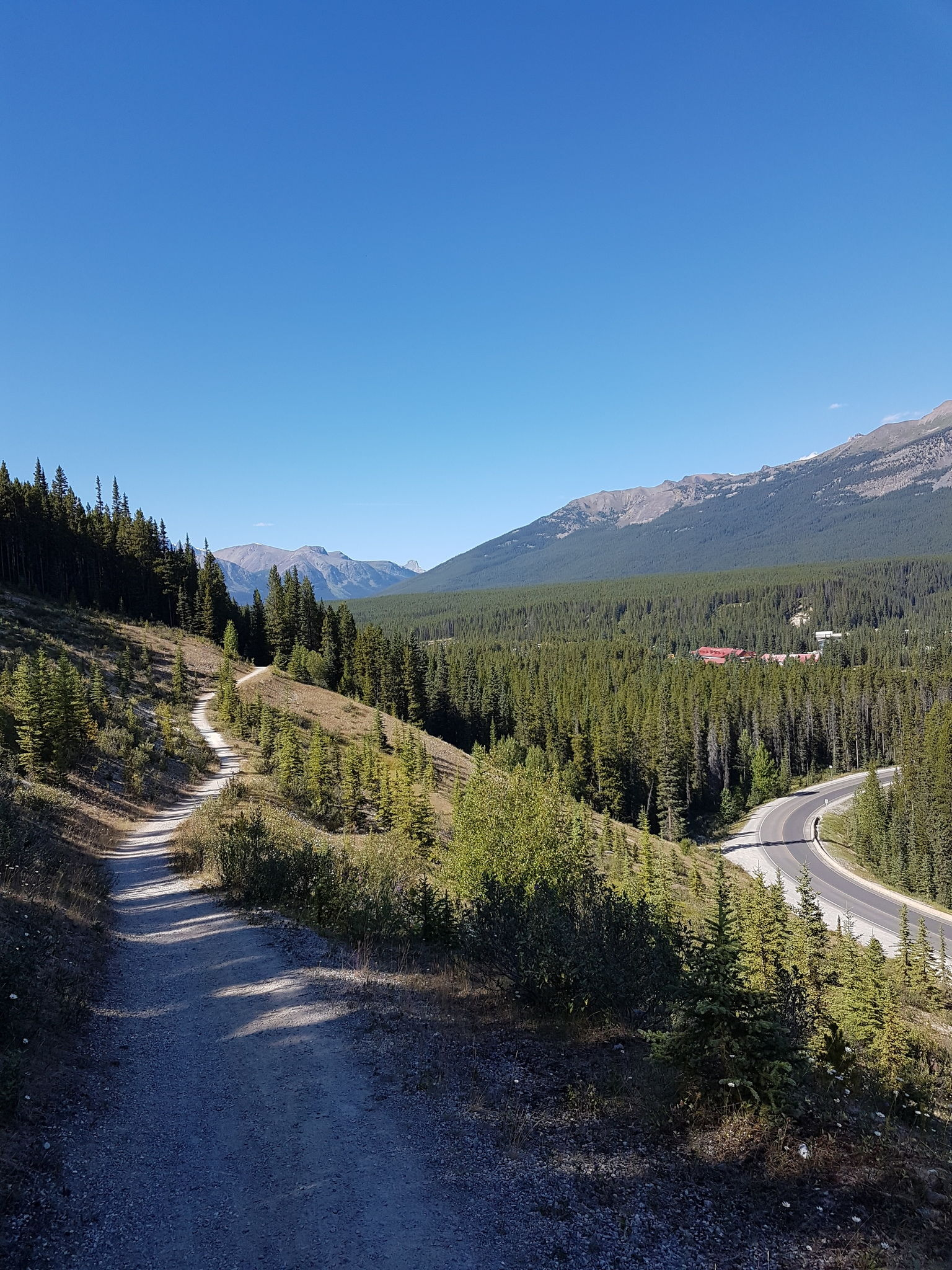 Lake Louise Tramline Trail to Fairview Lookout