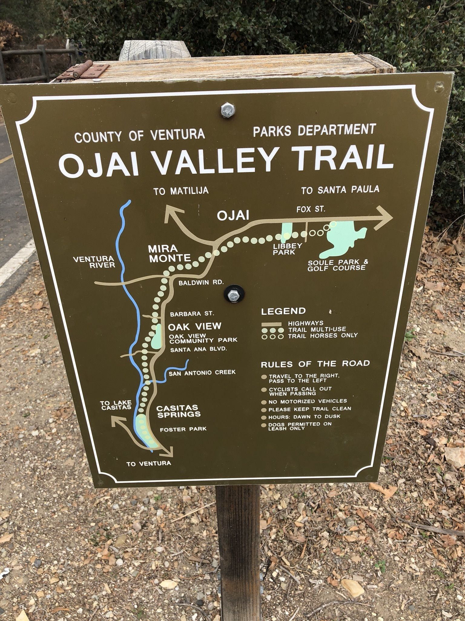 Ojai-Ventura Bike Path - California | AllTrails