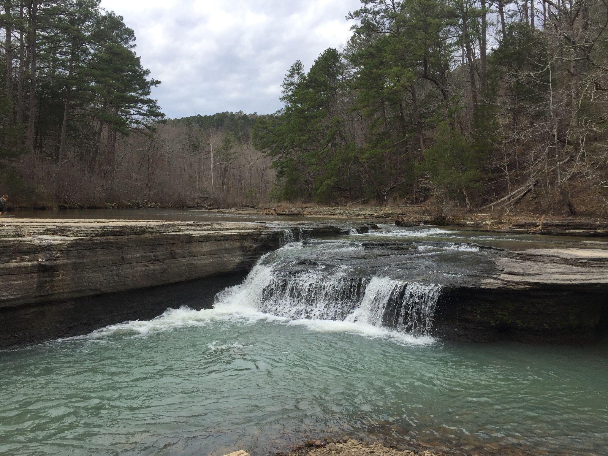Haw Creek Falls Trail - Arkansas