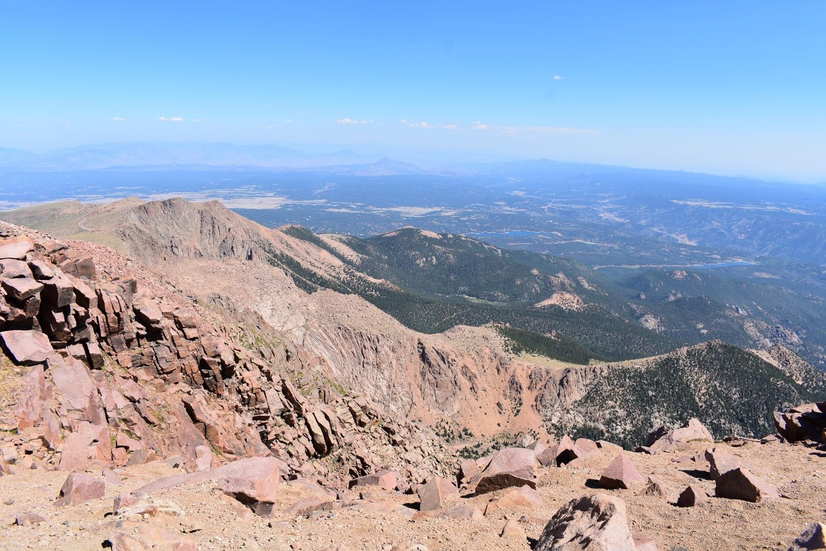 Pikes Peak Parking >> Pikes Peak From Devils Playground Colorado Alltrails