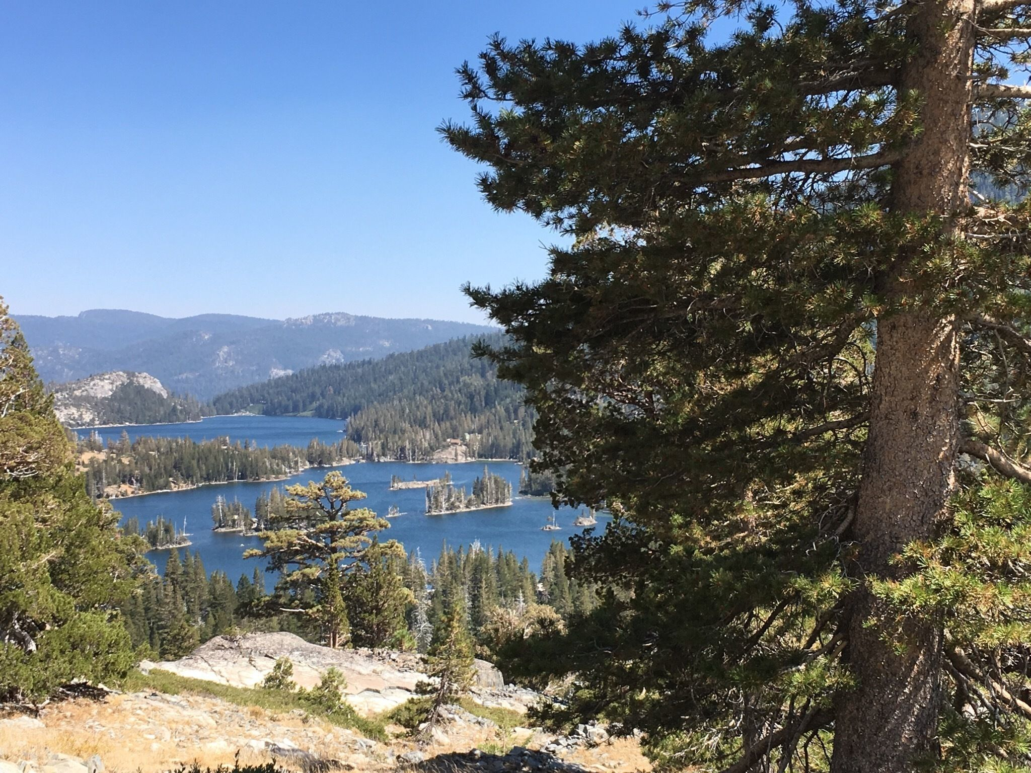 Lake of the Woods via Pacific Crest Trail - California