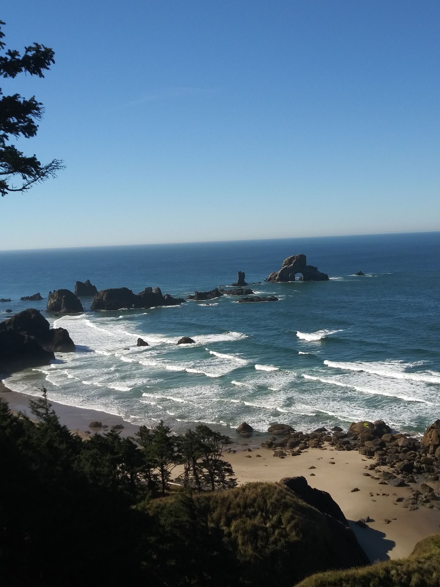 Ecola State Park To Indian Beach Trail Closed Oregon