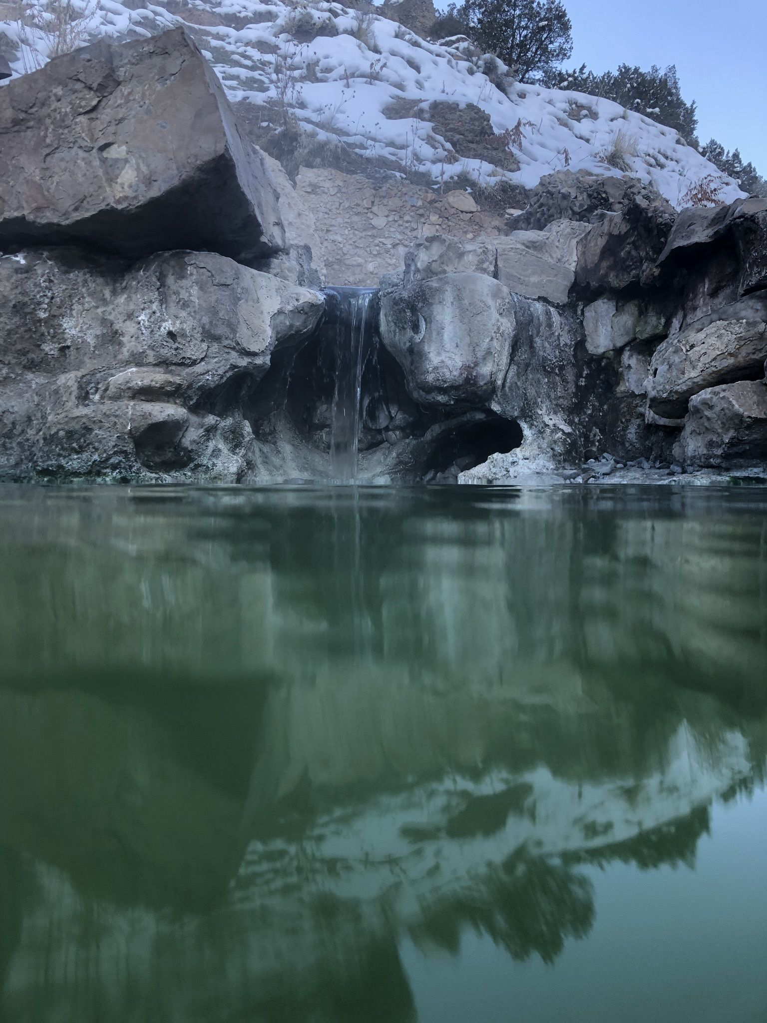 THE TALON: Fifth Water Hot Springs (Diamond Fork Canyon)