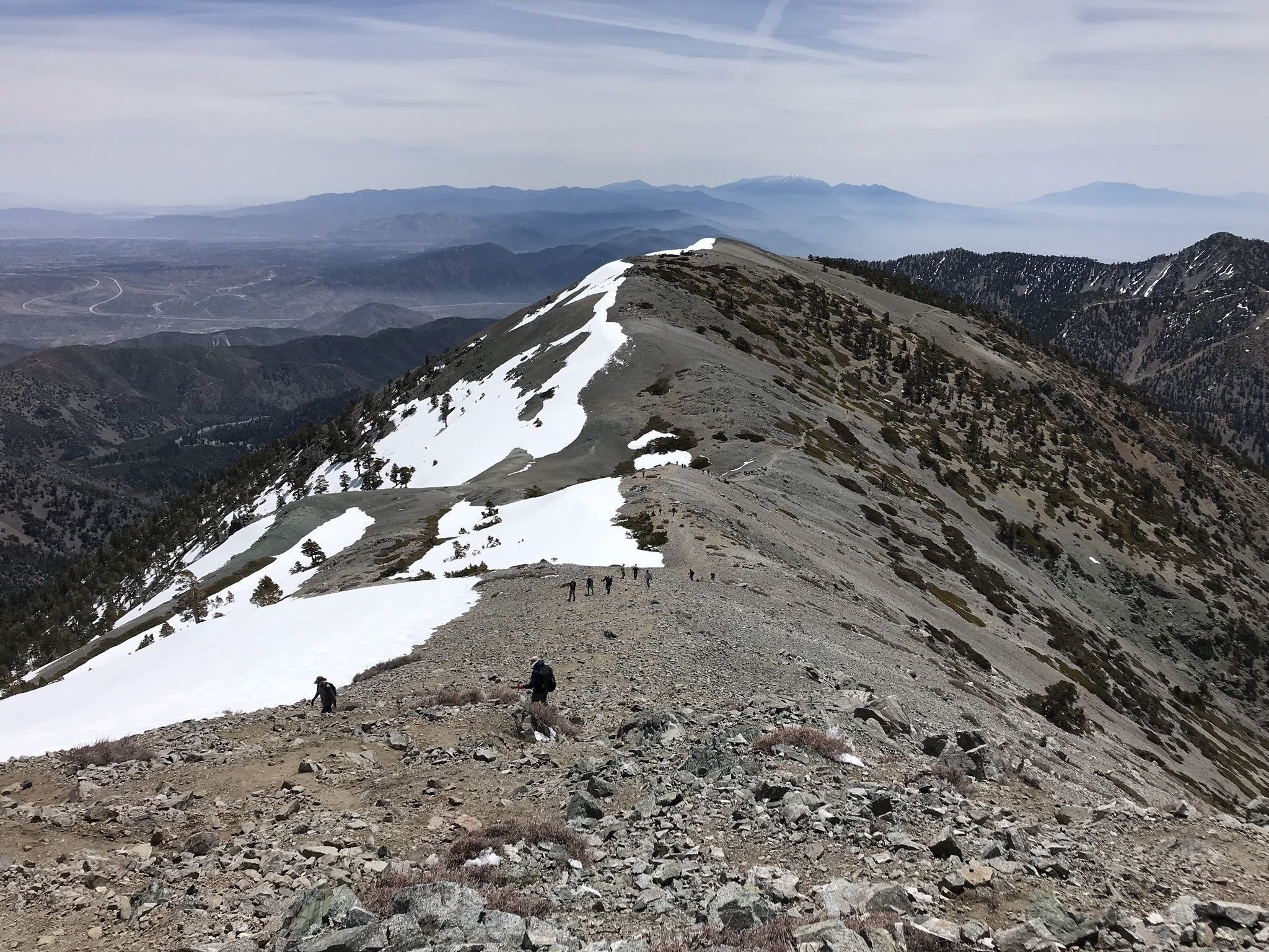 Mount San Antonio And Mount Baldy Notch Trail California