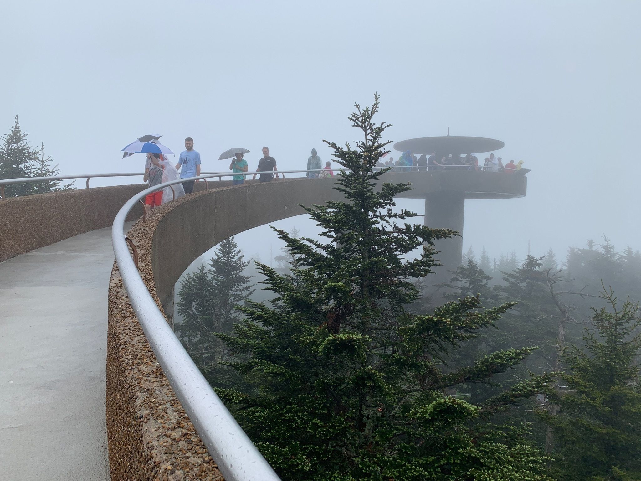 Clingmans Dome Observation Tower Trail - North Carolina ...
