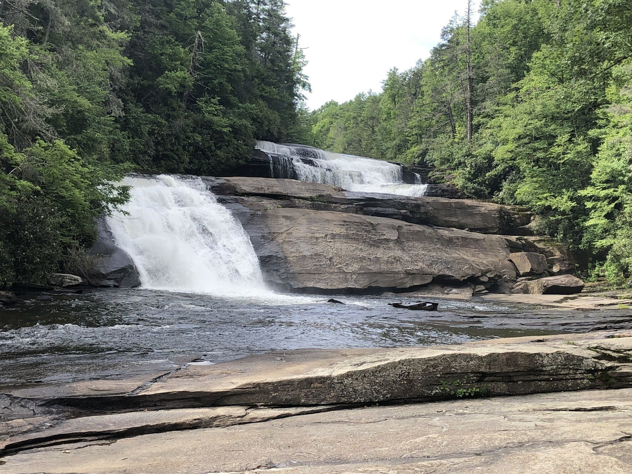 Triple Falls Trail - North Carolina | AllTrails on map of nc arboretum, map of pisgah national forest, map of mount mitchell, map of dupont state forest, map of transylvania county, map of blue ridge parkway, map of chimney rock, map of mount pisgah, map wa state park, map of grandfather mountain,