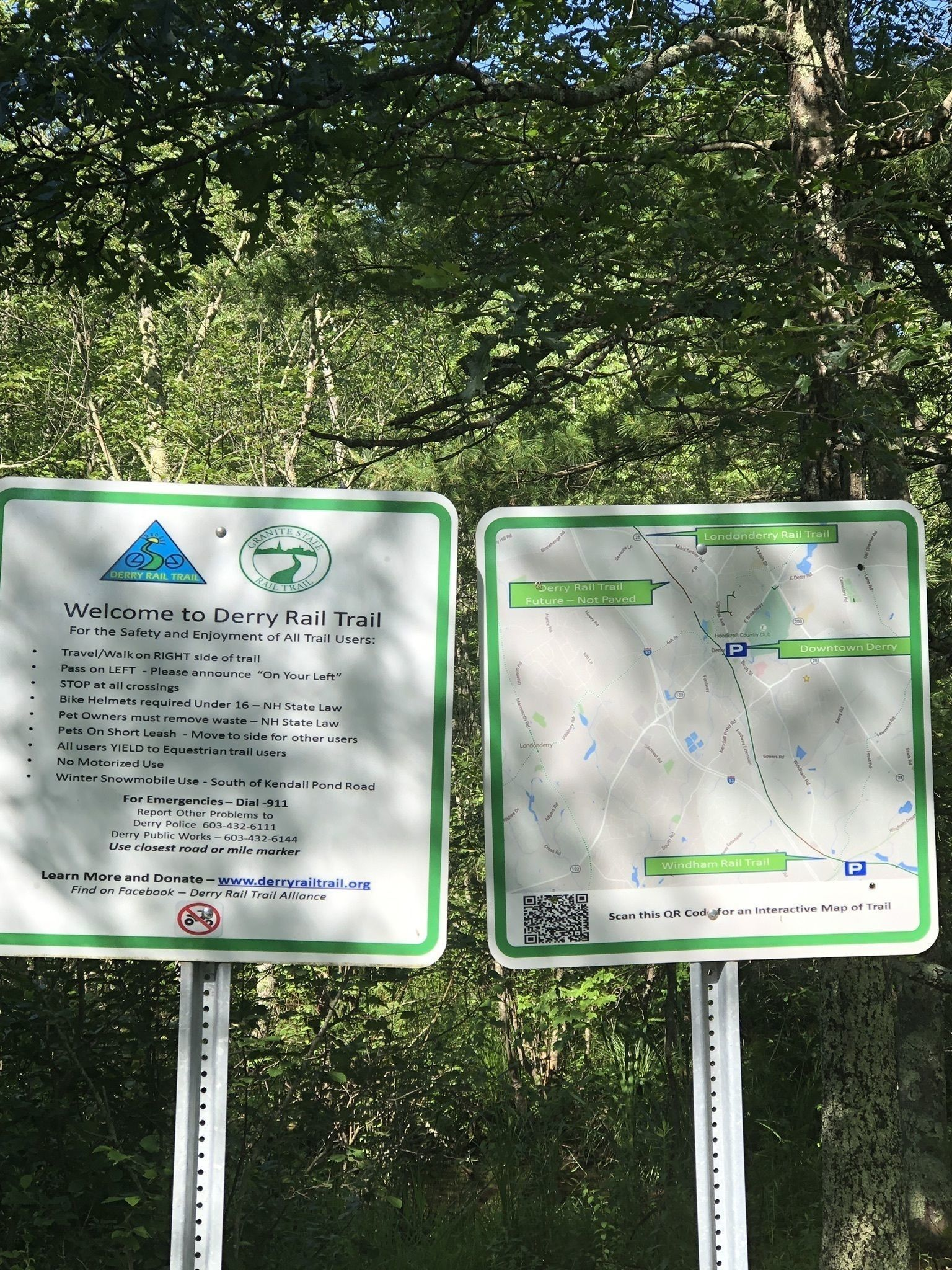 Derry Rail Trail - New Hampshire | AllTrails on