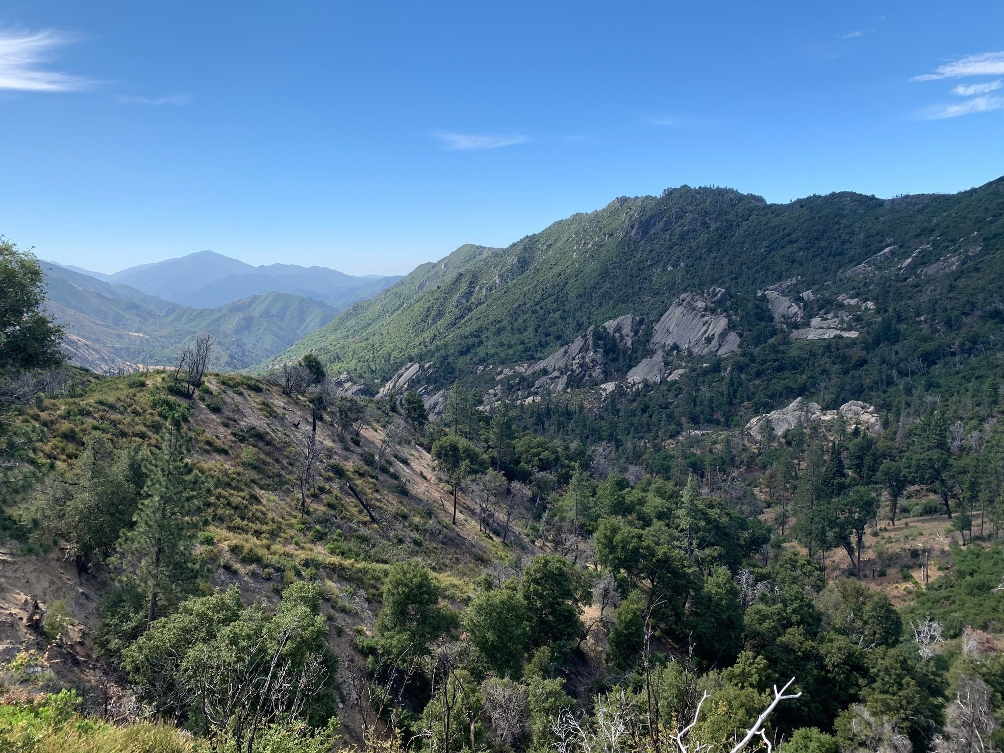 Pine Valley Miller Canyon Trail CLOSED - California ...