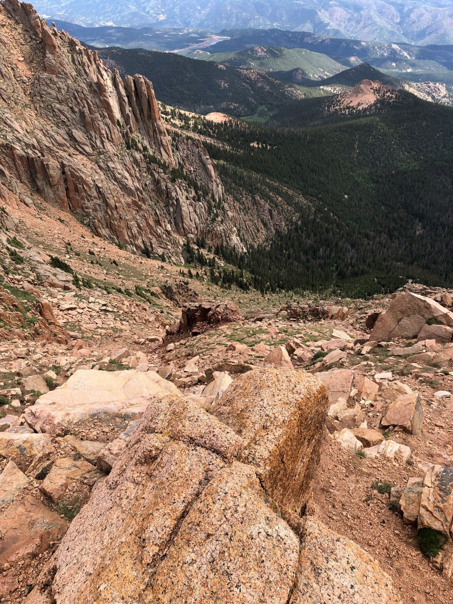 Pikes Peak from the Crags Trail - Colorado | AllTrails