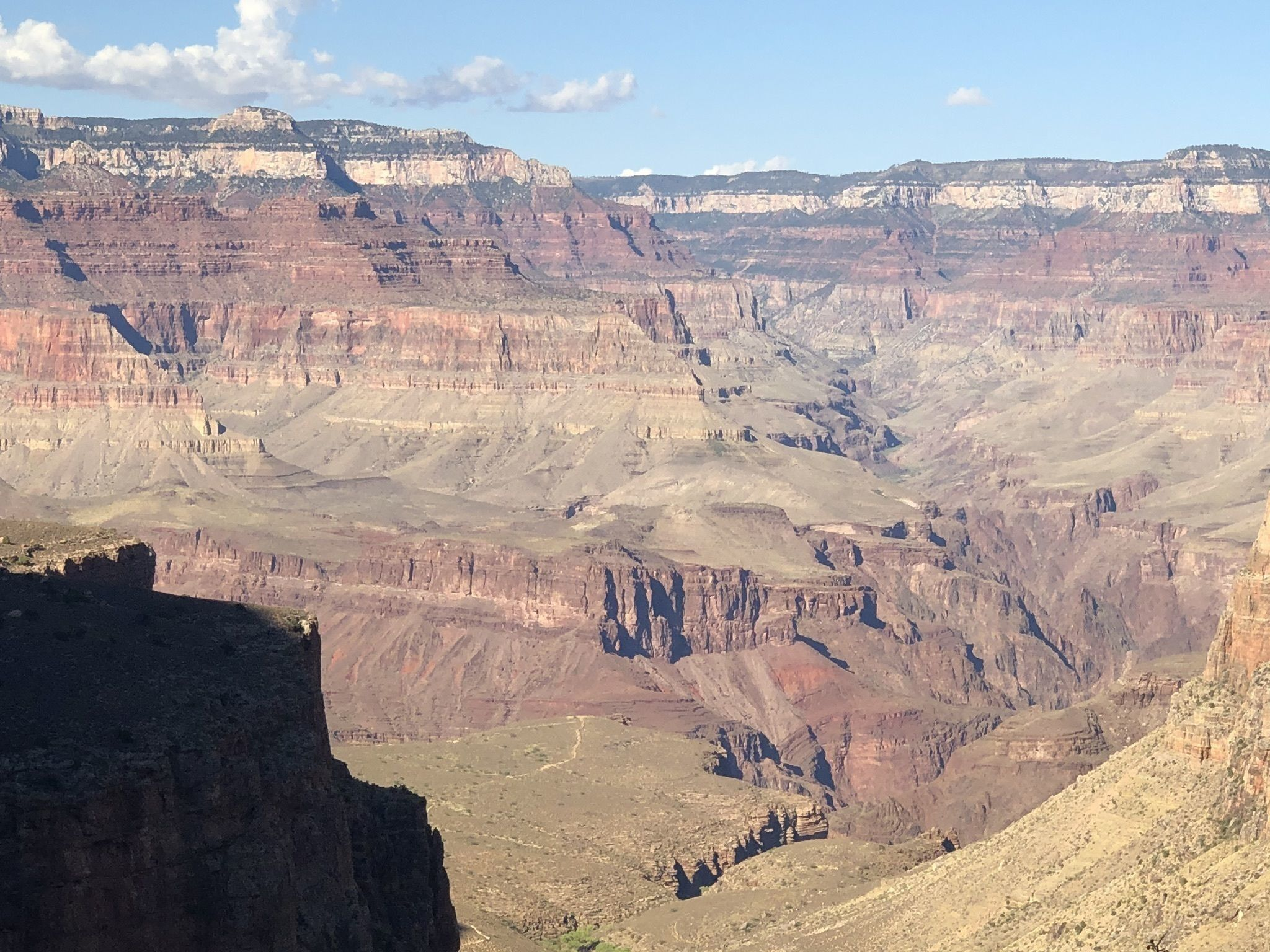 carbone datant Grand Canyon