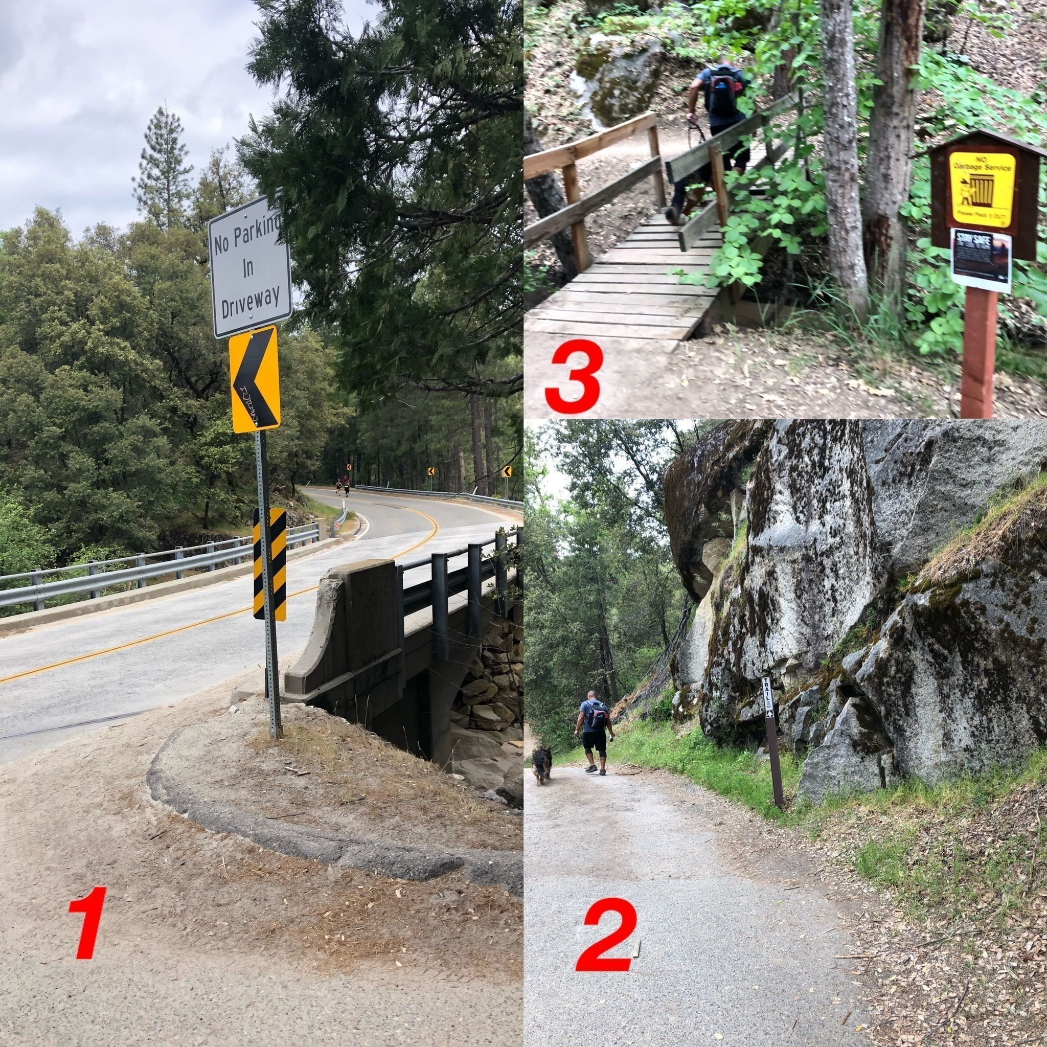 Angel Falls Via Willow Creek Trail [CLOSED]